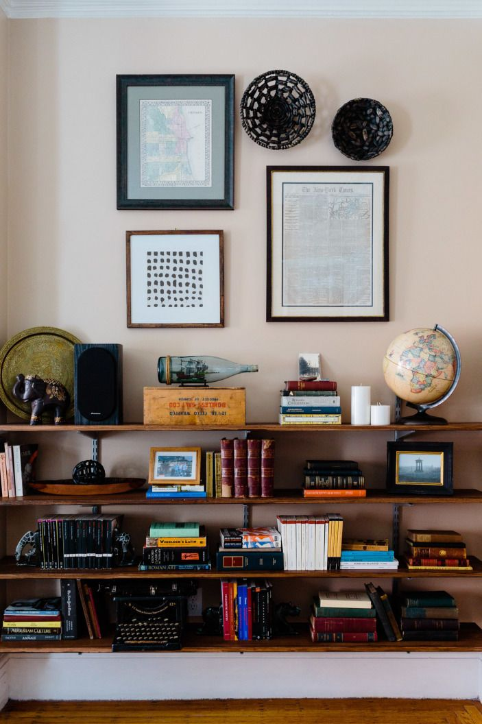 A Moody Boston Bachelor Pad Bookcases Amp Shelves Track