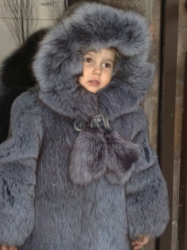 Kids Fur Coats