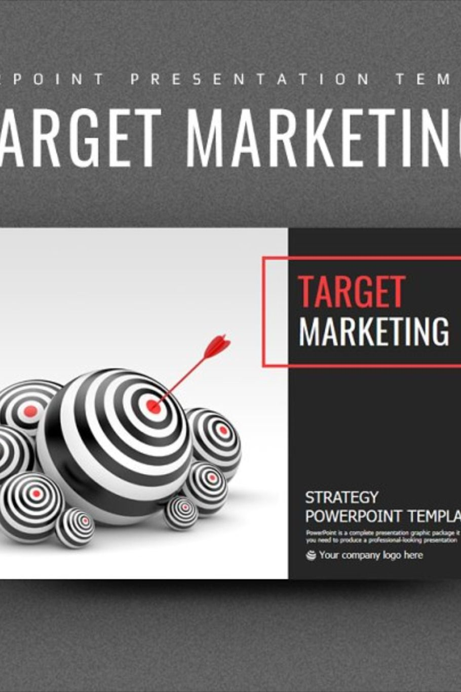 Target Marketing Strategy PPT in 2020 Marketing strategy