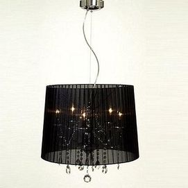 "Gen Lite, 14 1/4""h. Shaded Chandelier"