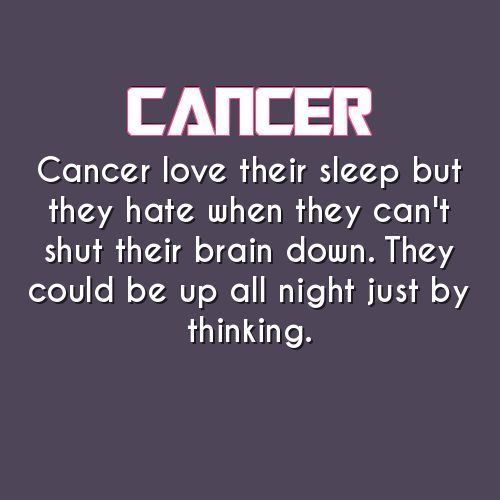 Very True Personality Type Daily Horoscope Cancer Cancer Traits
