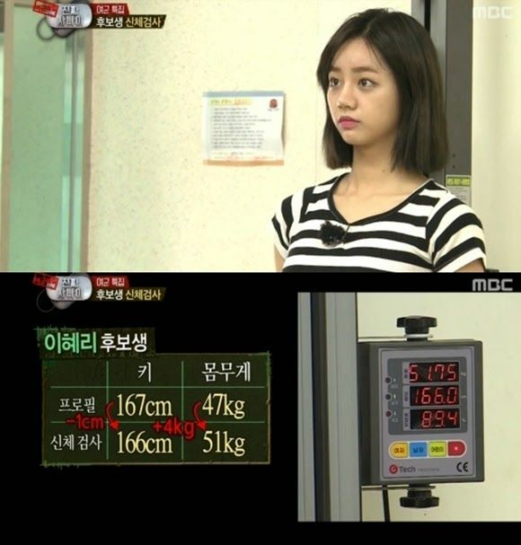 My Gorl Hyeri S Actual Height And Weight Revealed In Real Men Girl S Day Hyeri Girl Day Hyeri