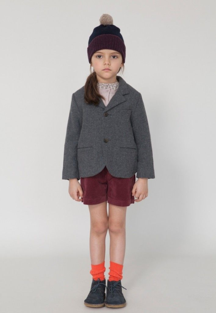 Caramel Baby and Child for fall/winter 2013 back to school style wool blazer jackets for kidswear