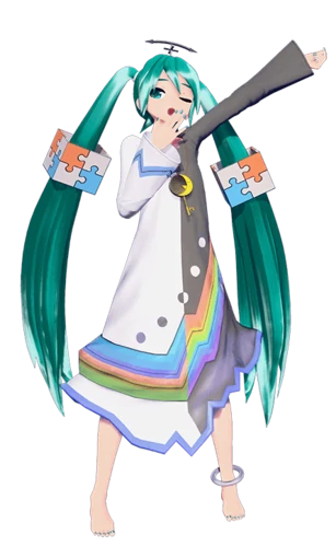 Hello Good Night Project Diva Wiki Fandom Miku Hatsune Vocaloid Hatsune Miku Outfits Hatsune Miku