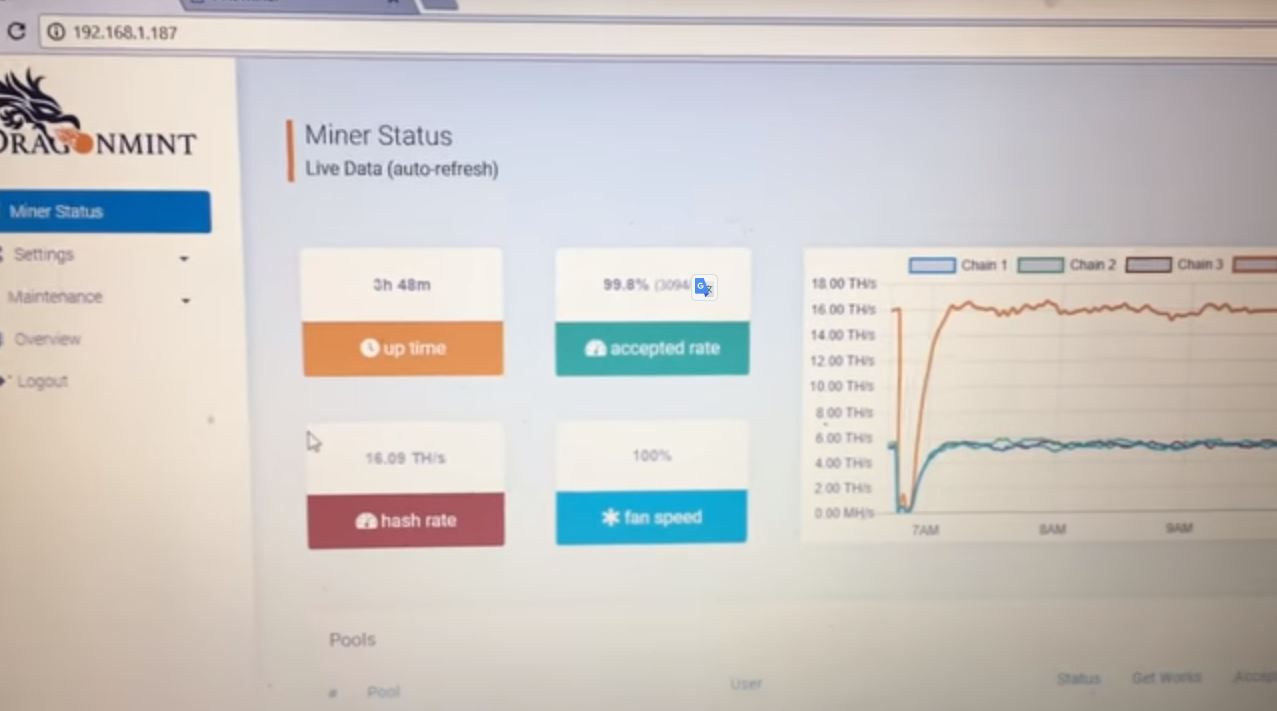 Antminer S9 vs Dragonmint T1 newest bitcoin ASIC mining
