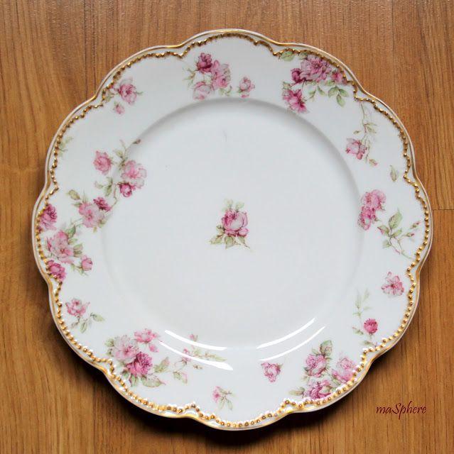 Masphere select vintage chic blog plato de decoraci n - Decoracion de platos ...