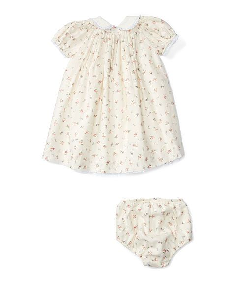 ee7b28cbf8 Floral Cotton Dress & Bloomer - Dresses BABY GIRL (0-24 months ...