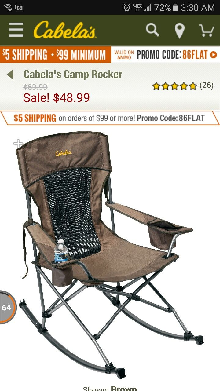 Terrific Cabelas Camp Rocking Chair Totally Want Outdoor Chairs Gmtry Best Dining Table And Chair Ideas Images Gmtryco