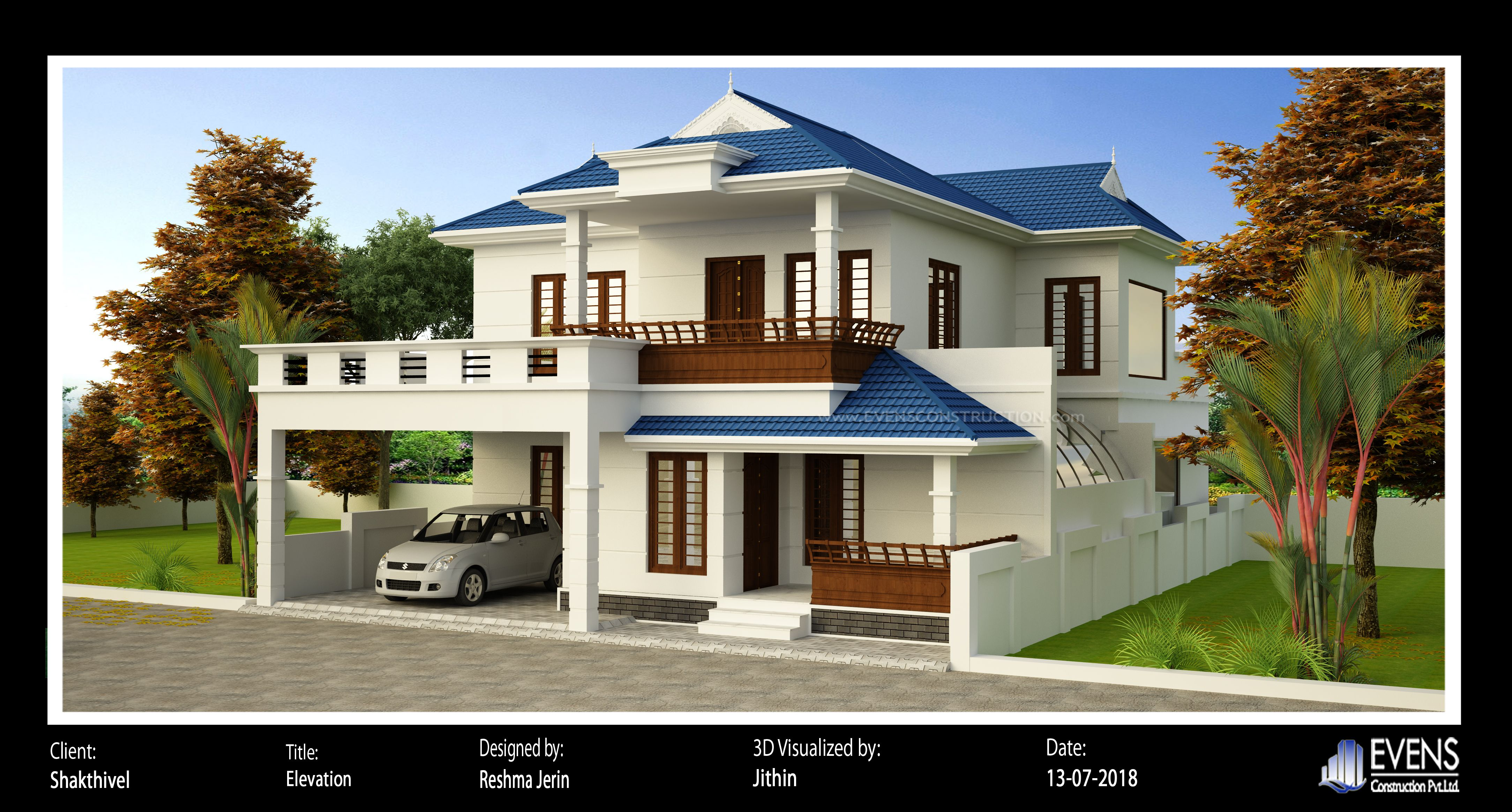 House Plan Design And Construction Contact Us 8086611166 8086600066 Kerala House Design House Plans House