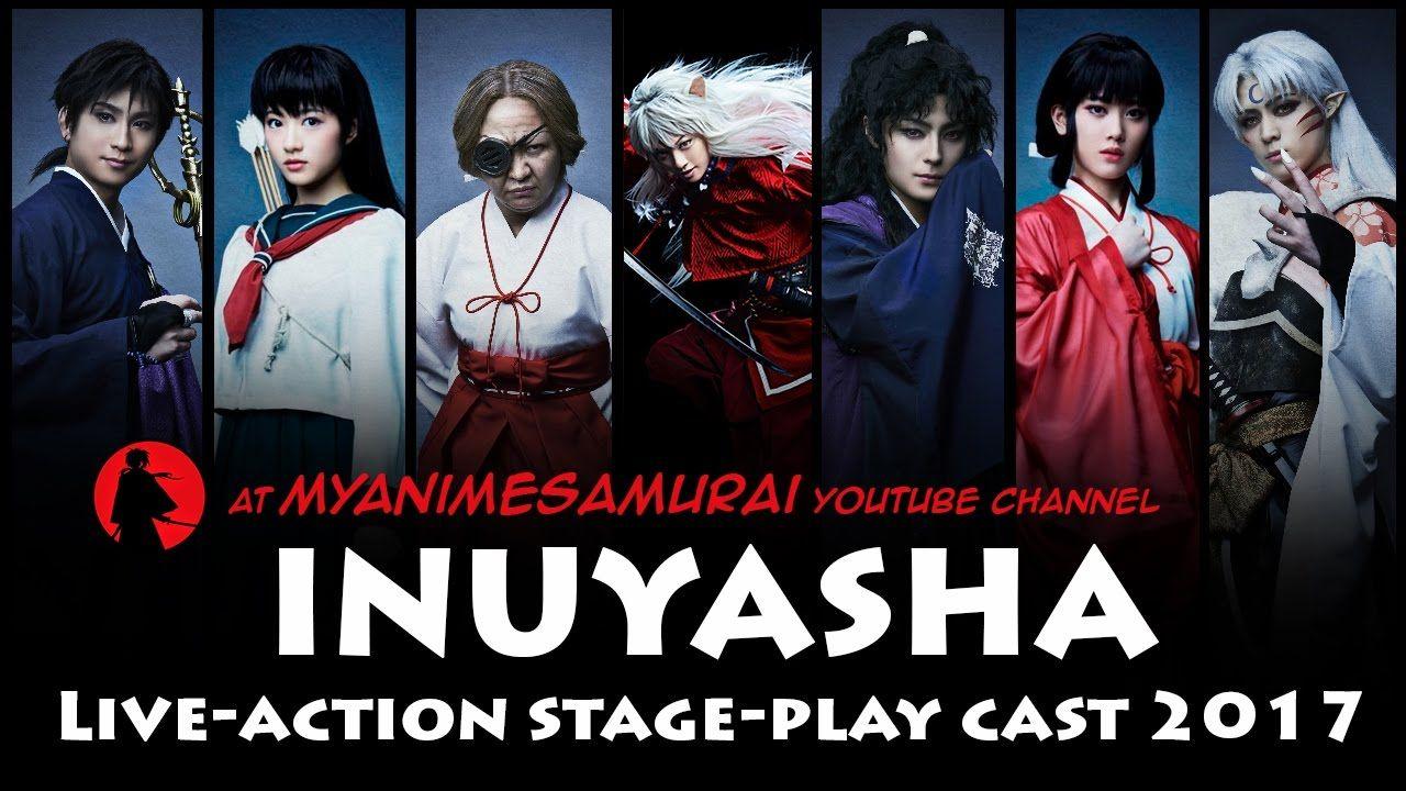Inuyasha Live Action Stage Play Cast Inuyasha