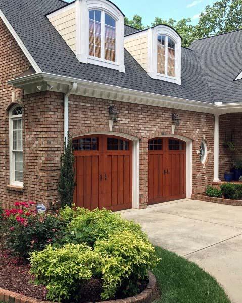 Modern House Exterior Design Front Door Ideas Wood Facade Wooden Garage Door: Best Garage Doors, Exterior Design, Garage Doors