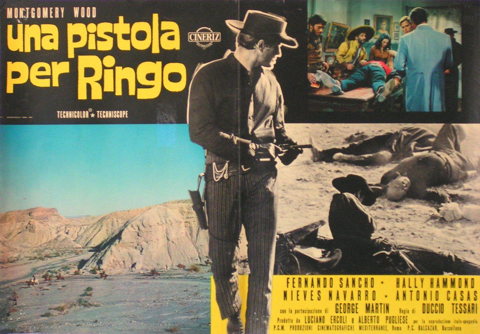 A Pistol For Ringo Italian Fotobusta Comic Book Cover Movie Posters Youtube