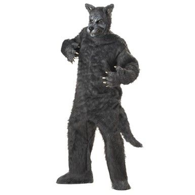 big bad wolf halloween costume grey - Wolf Costume Halloween