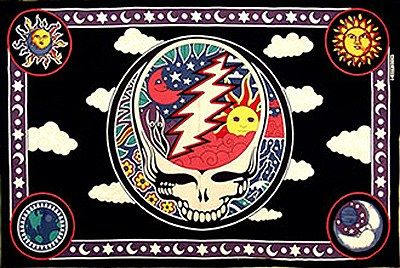 Space your Face Grateful Dead Tapestry $24.99