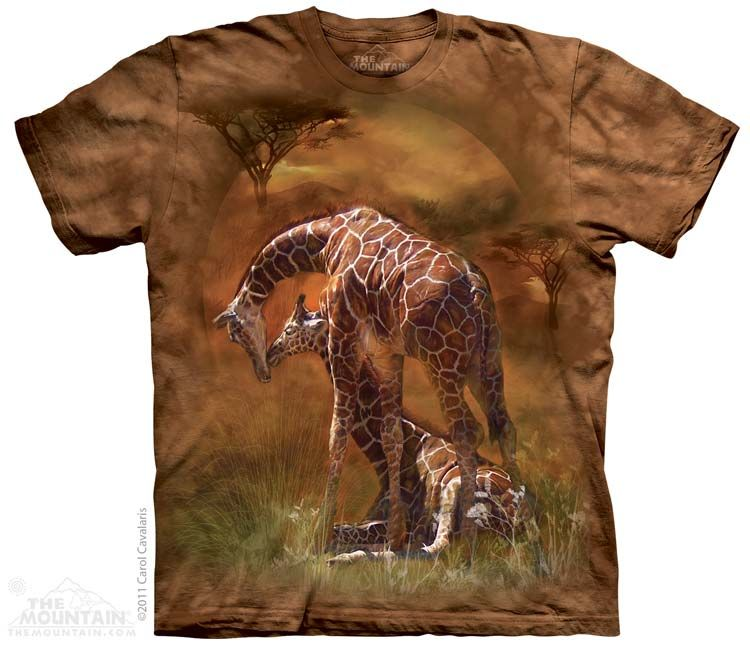 """""""Giraffe Sunset"""" In adult and youth sizes"""