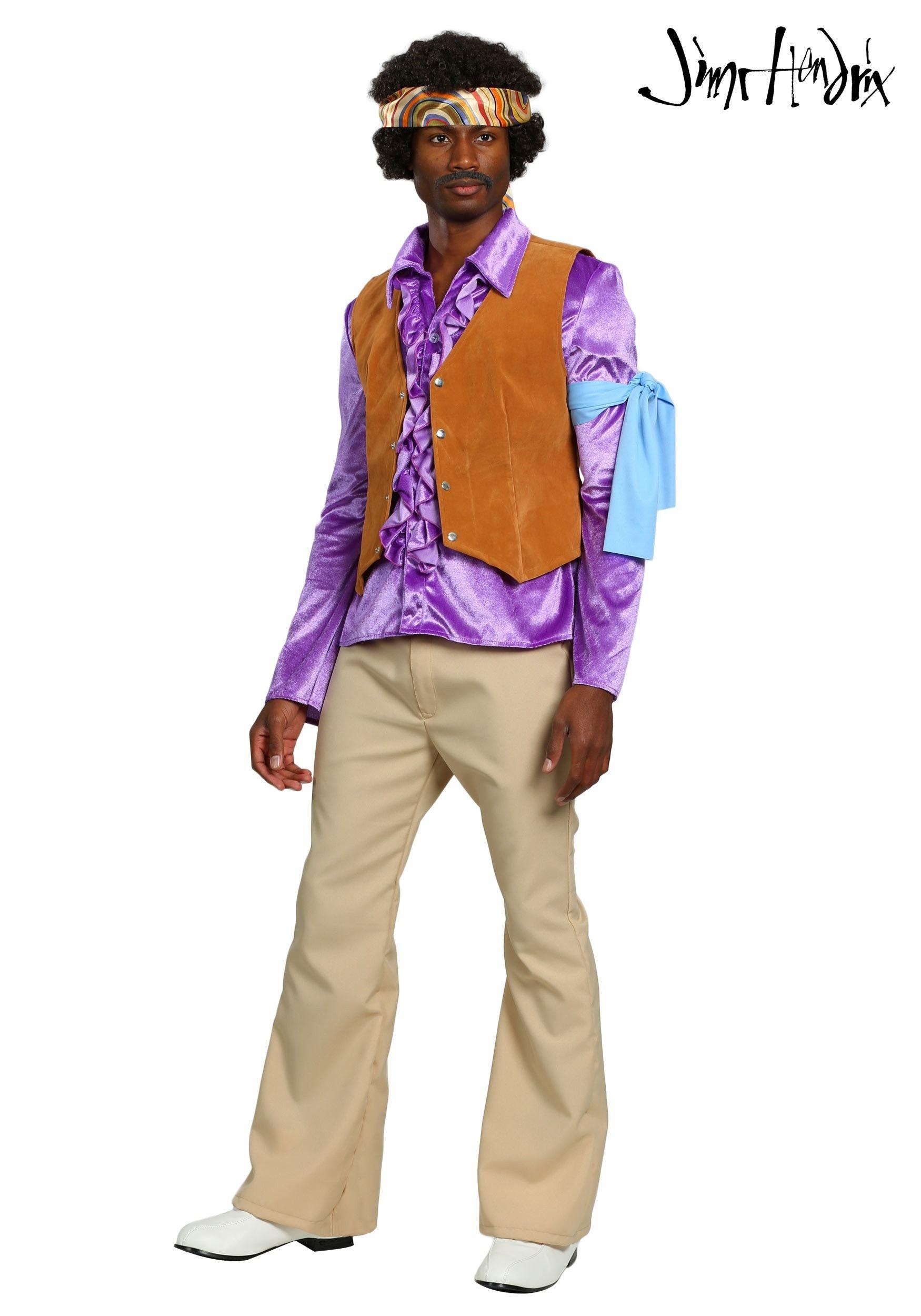 Mens Fancy Dress Costume 1970/'S Lavender Suit Large