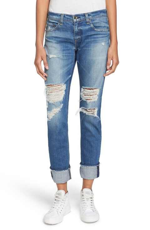 1a34f48caac rag & bone/JEAN 'The Dre' Slim Fit Boyfriend Jeans (Kennedy) | Fall ...