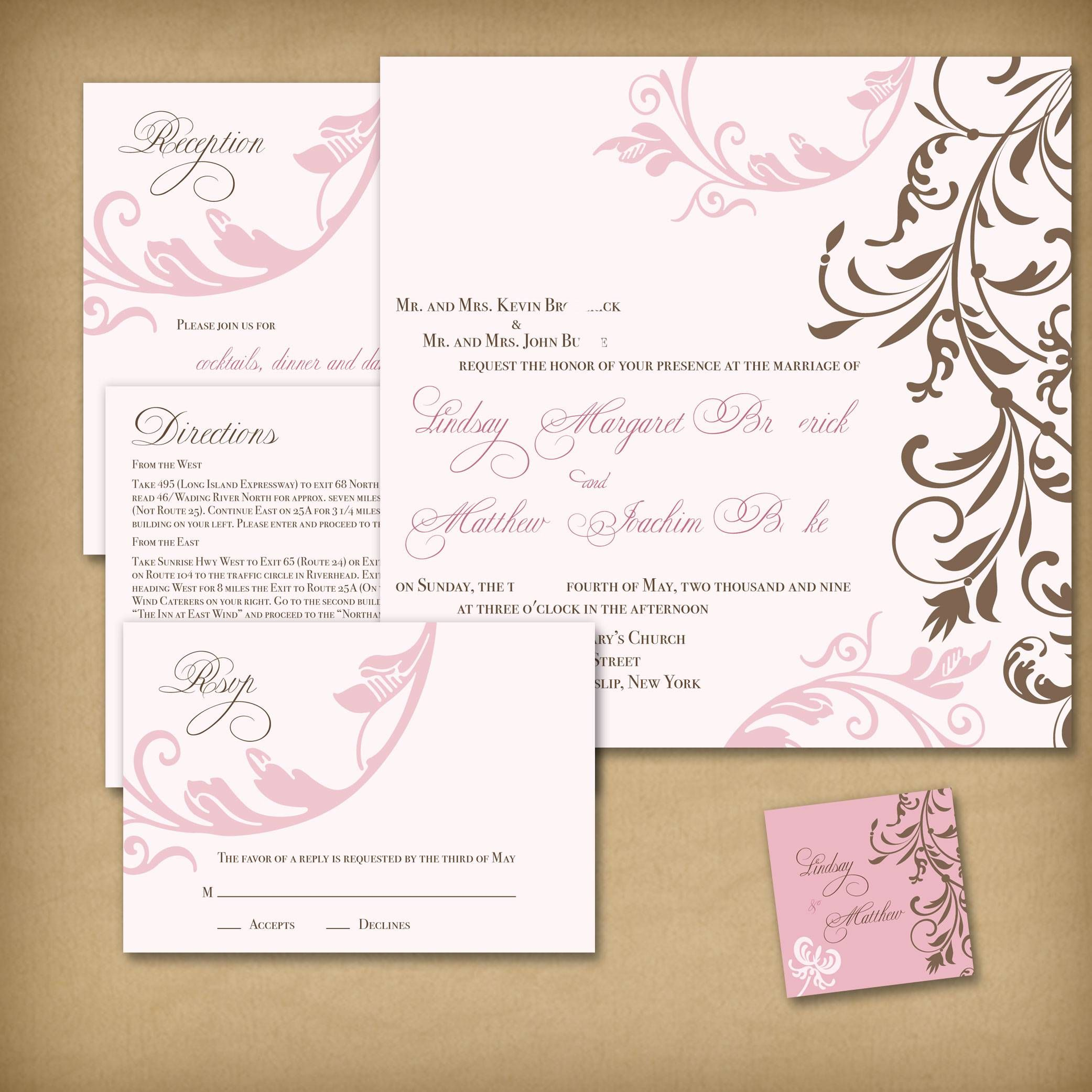 Invitation Template Word New Wedding Invitation Templates  Wedding Invitation Templates Word .