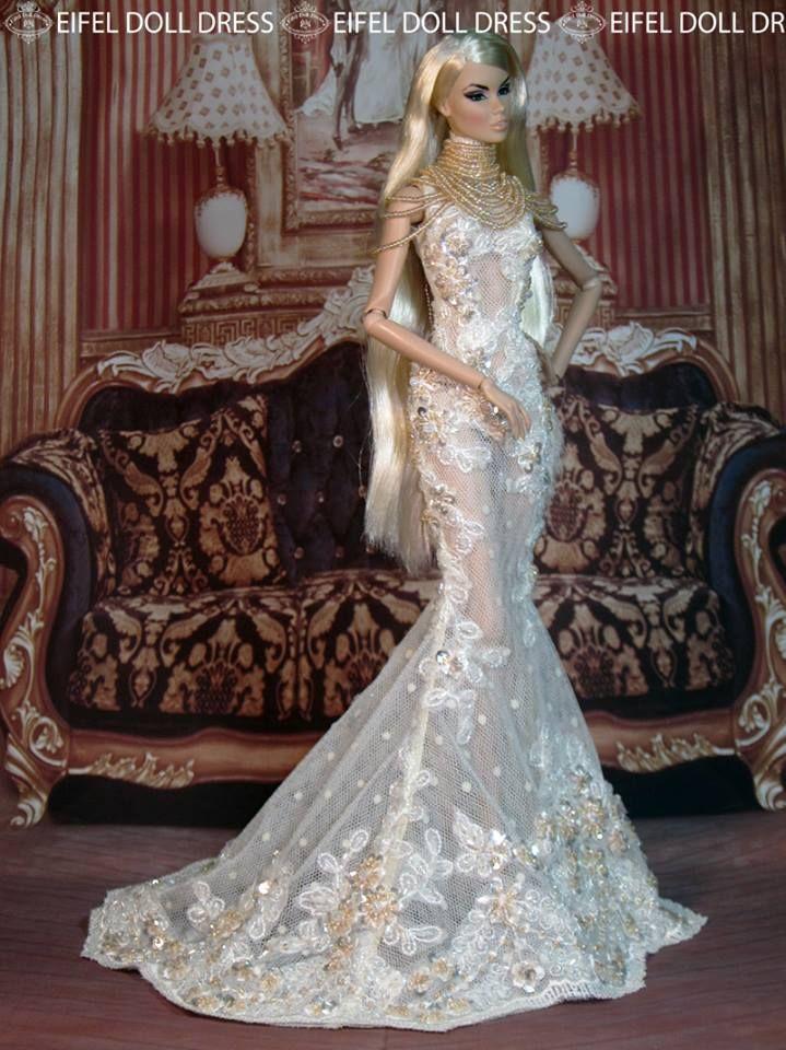 12.33.6 barbie doll gowns eifel 85 | Barbies & Dolls! (31 ...