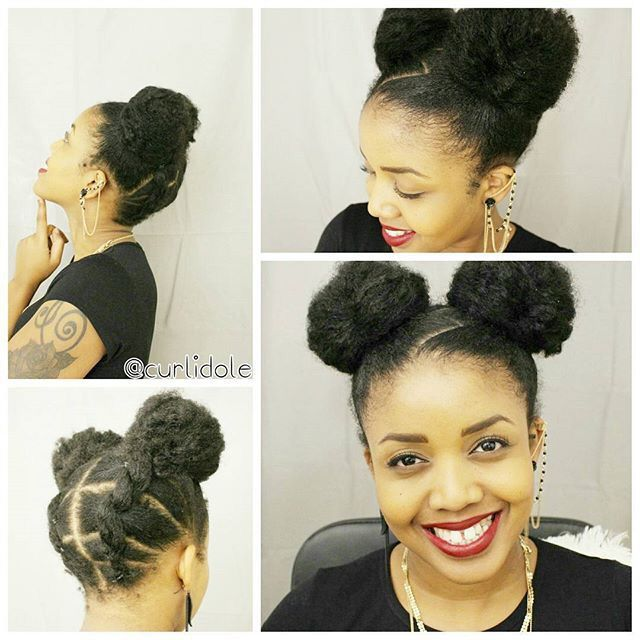 Charming Make Up And Cool Two Buns Jasmeannnn Hair Pop Hair Extensions Www Hairpop Net Curly Hair Styles Lace Frontal Wig Curly Hair Styles Naturally