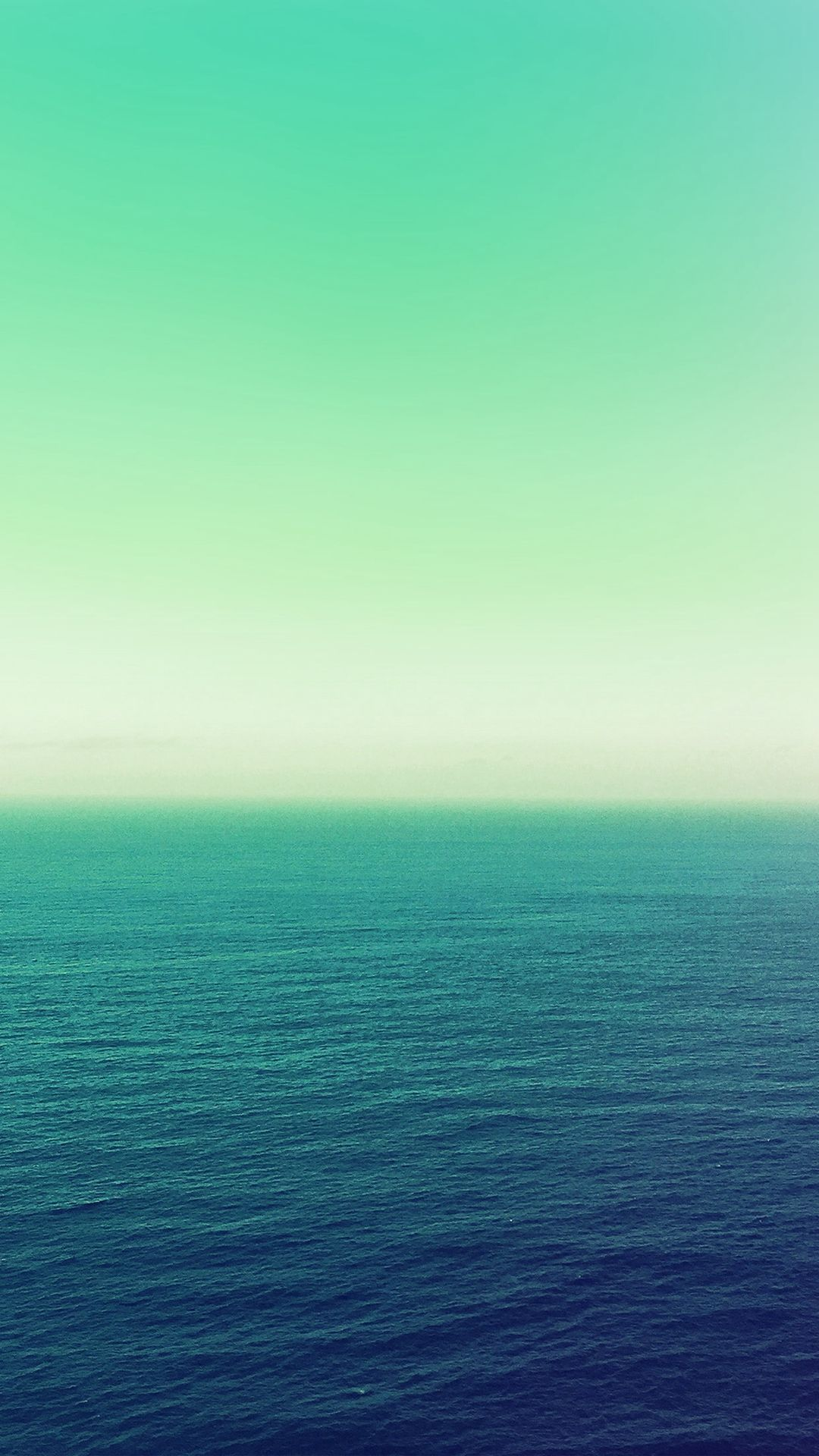 Calm Sea Green Ocean Water Summer Day Nature iPhone 6