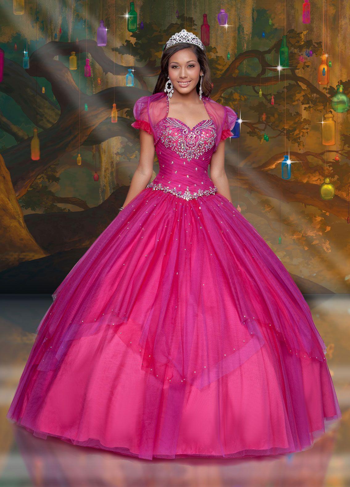 Tiana   Disney Royal Ball   Color rosa y morado   Pinterest ...