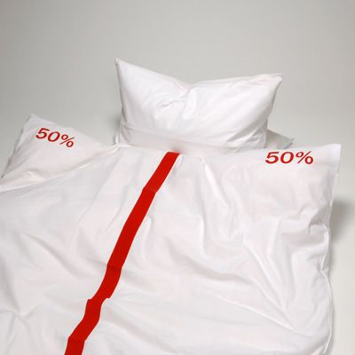 Maybe the hubby will finally agree that he takes all the duvet when he sleeps!