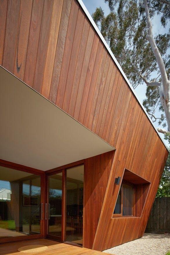 Best Minimalist House Design of Wood | Desain Rumah Minimalis Terbaik dari Kayu