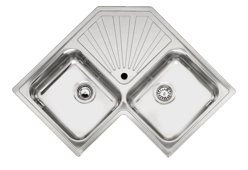 Reginox MONTREAL Double Bowl Corner Kitchen Sink | Reginox ...