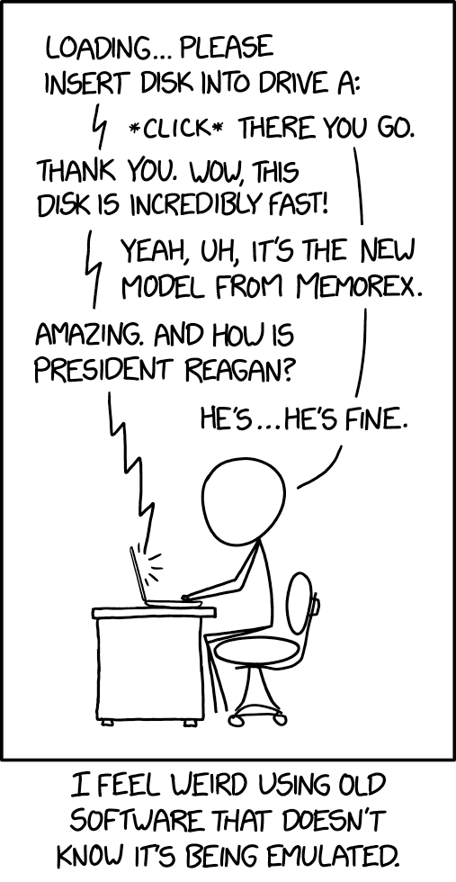 Xkcd Com Computer Gaming Images Photo Tech Xkcd Old Software Music Pics President Reagan