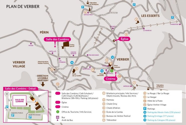 Verbier town map Maps Pinterest Switzerland