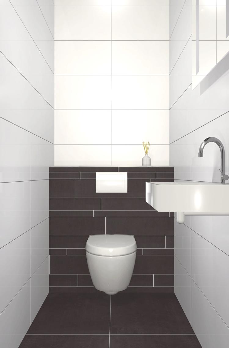 Toiletten inrichting - Voorbeeld toilet ...