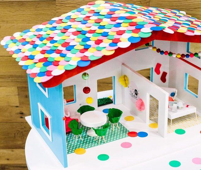 Come costruire una casa delle bambole un 39 idea fai da te originale per la cameretta foto - Casa da costruire ...