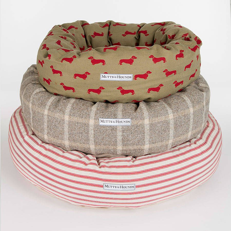 Luxury Donut Dog Beds Not on the High Street (With