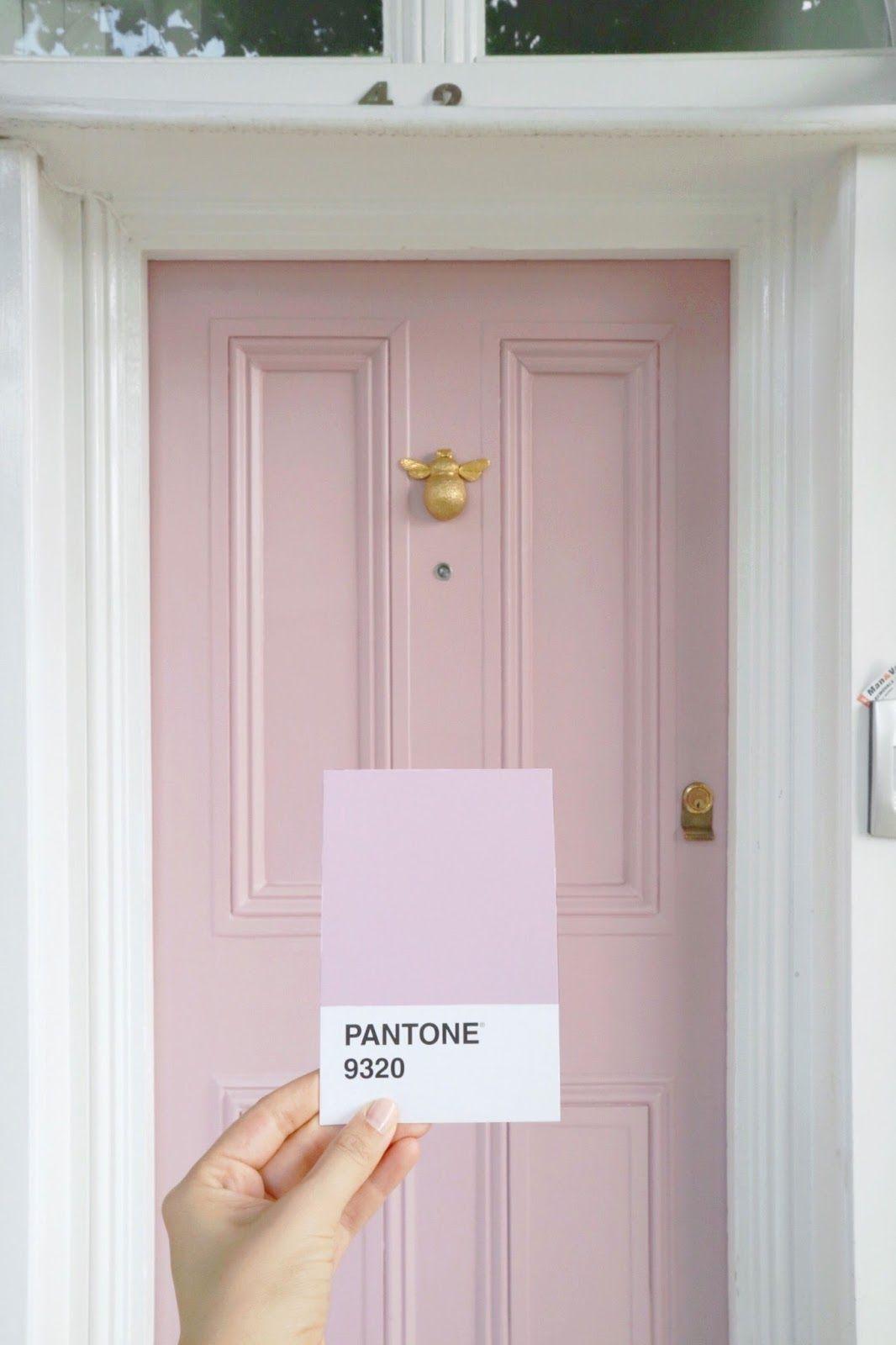 Pantone Doors M A R I A M A R I E Painted Front Doors Pantone Pink Pink Door