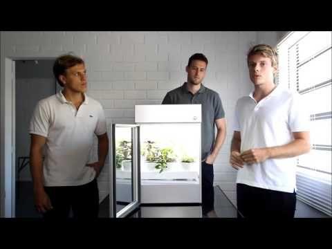 GeraçãoE - Engenheiros gaúchos criam máquina para cultivo de horta orgânica dentro de casa