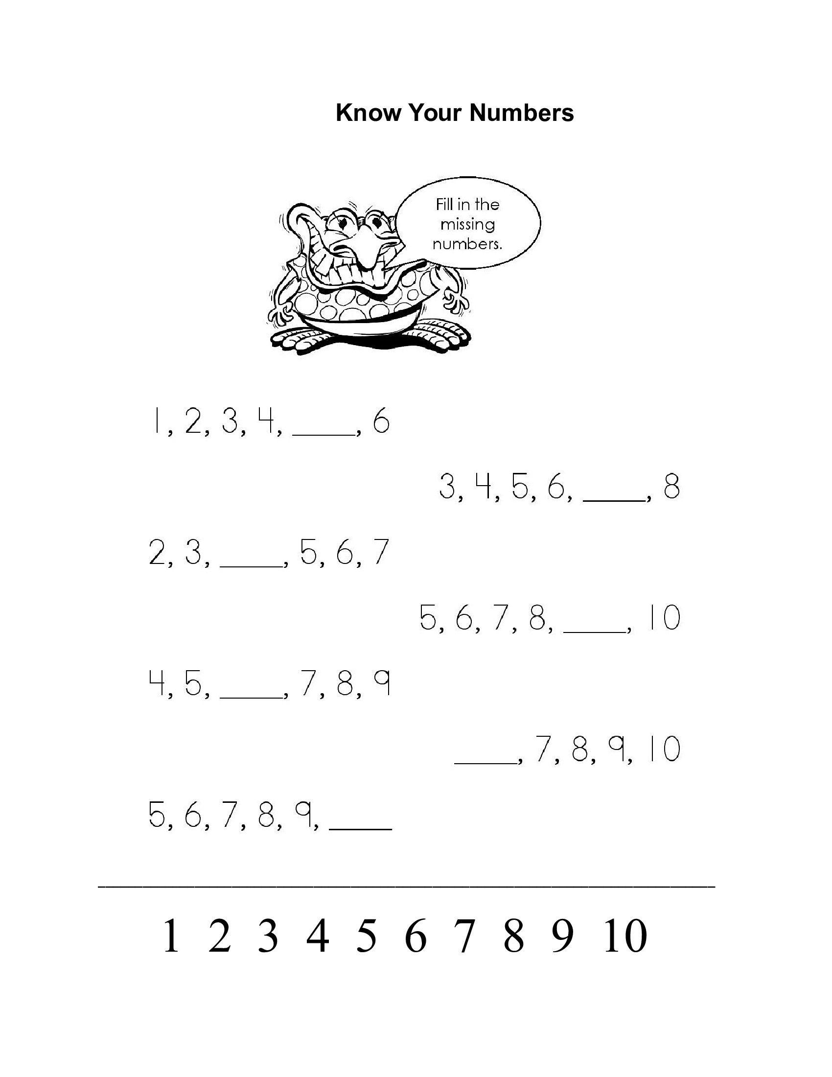 Pin De Liliya Mehaya Em Number Worksheets
