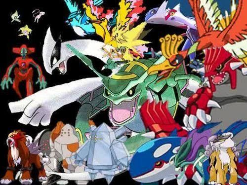 Legandaries cartoons pokemon photo pok mon und all - All legendary pokemon background ...