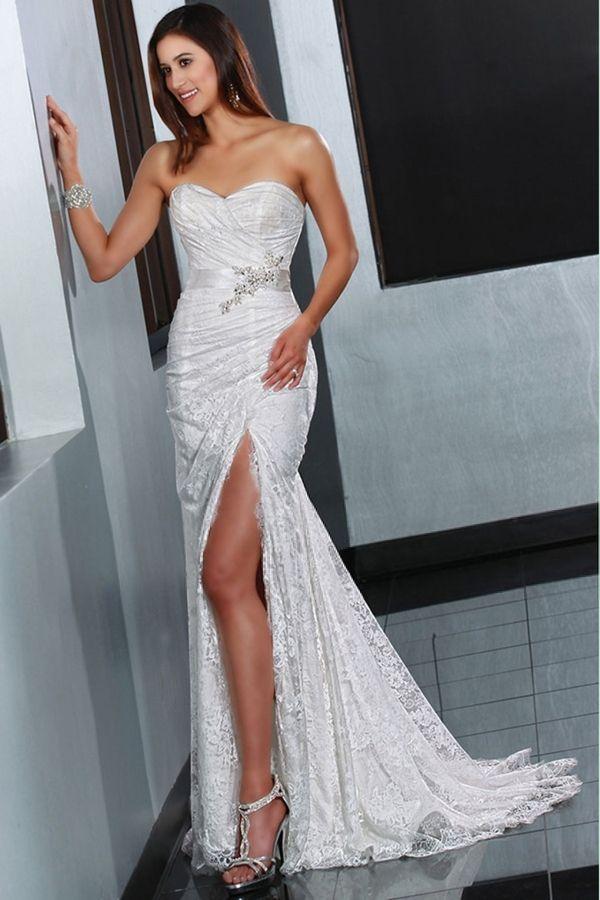 Top Wedding Dress Designers Wedding Dresses Princess Slit