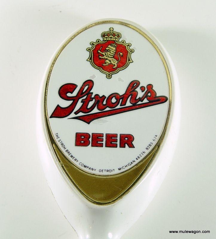 Vintage Stroh/'s Premium Quality American Beer Wooden Tap Handle New