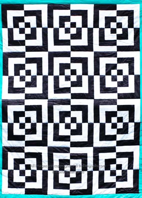 Pin by Gloria Johnson on Quilts | Optical illusion quilts, Geometric