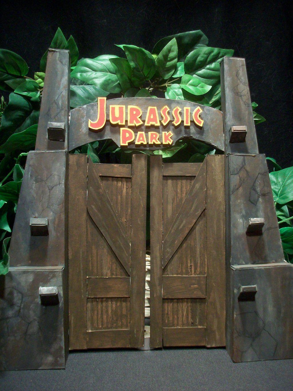 Jurassic Park Gate By Pink12301 Deviantart Com On Deviantart