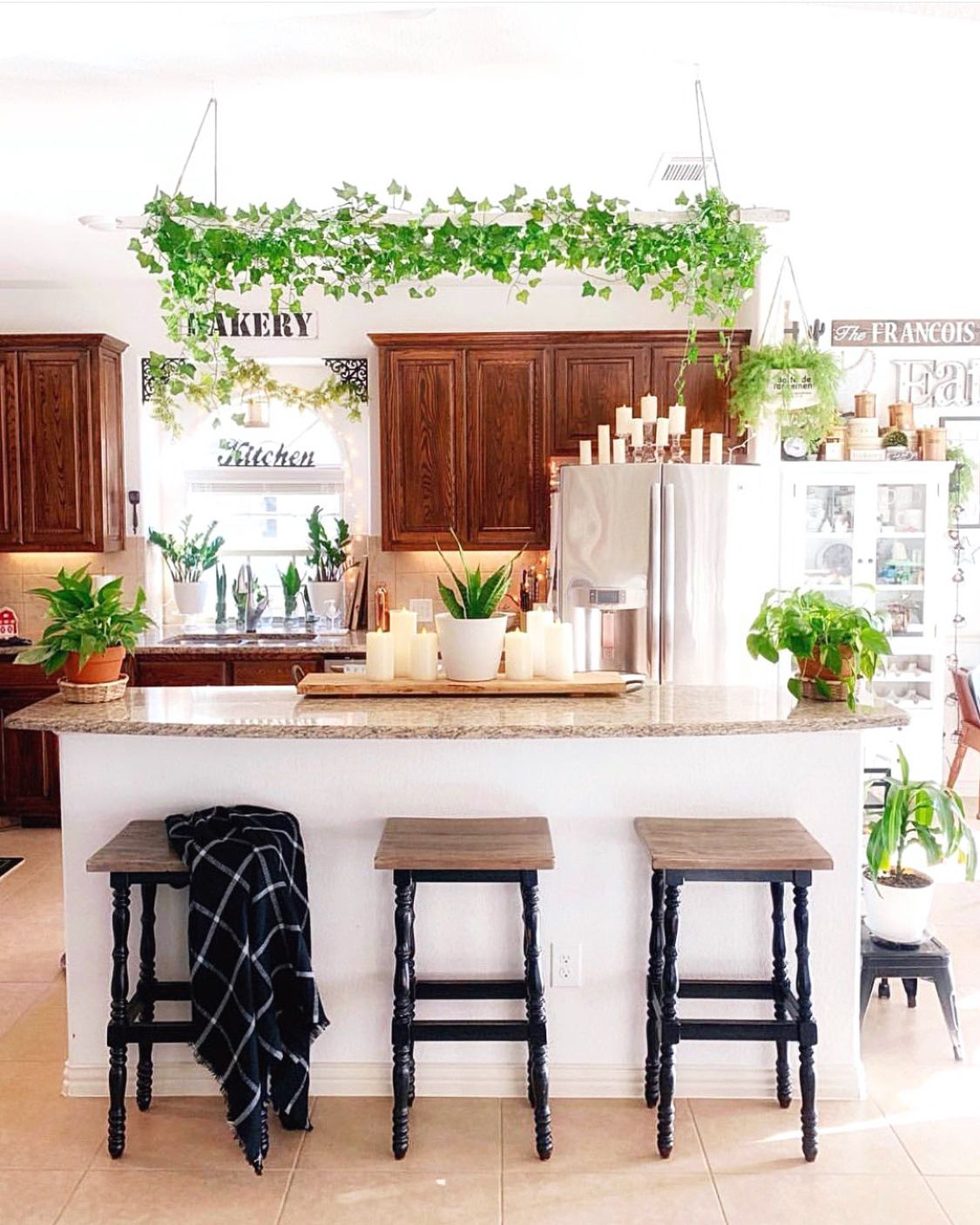 garden in my kitchen chic kitchen decor bohemian kitchen interior design kitchen on boho chic interior design kitchen id=27833