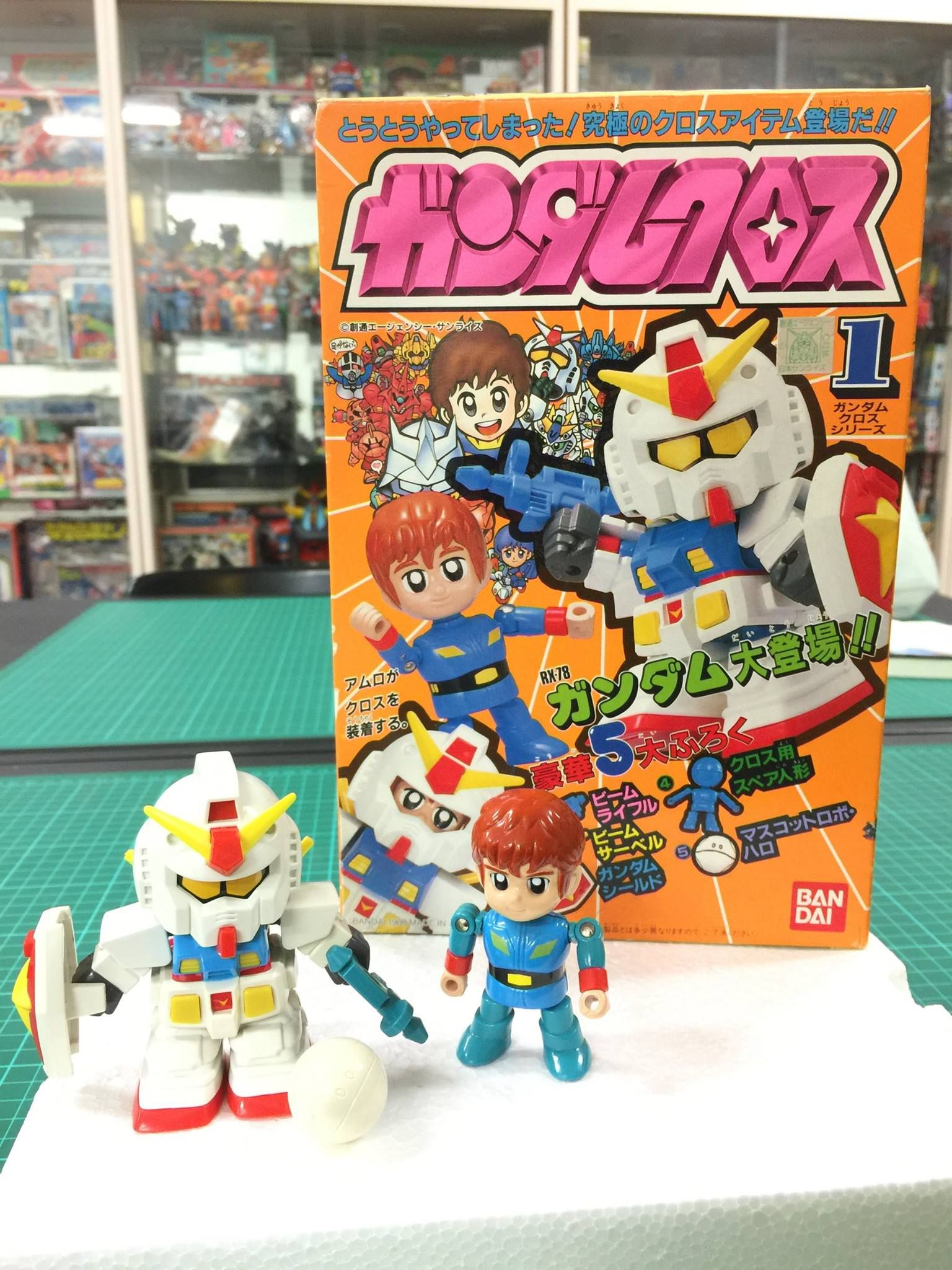 收藏編號:G780176 型號尺寸:1988 小合金玩具 購入地點: 日拍 心得: 忍不住啊~~ 被我看到商品一定要弄到手!! 上次 ...