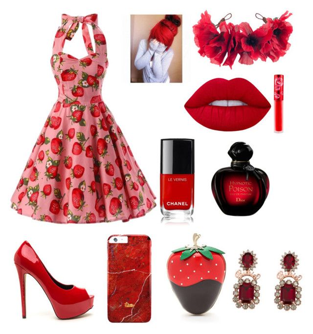 """Anyone else love the color red?"" by fangirlswegetthejobdone ❤ liked on Polyvore featuring art"
