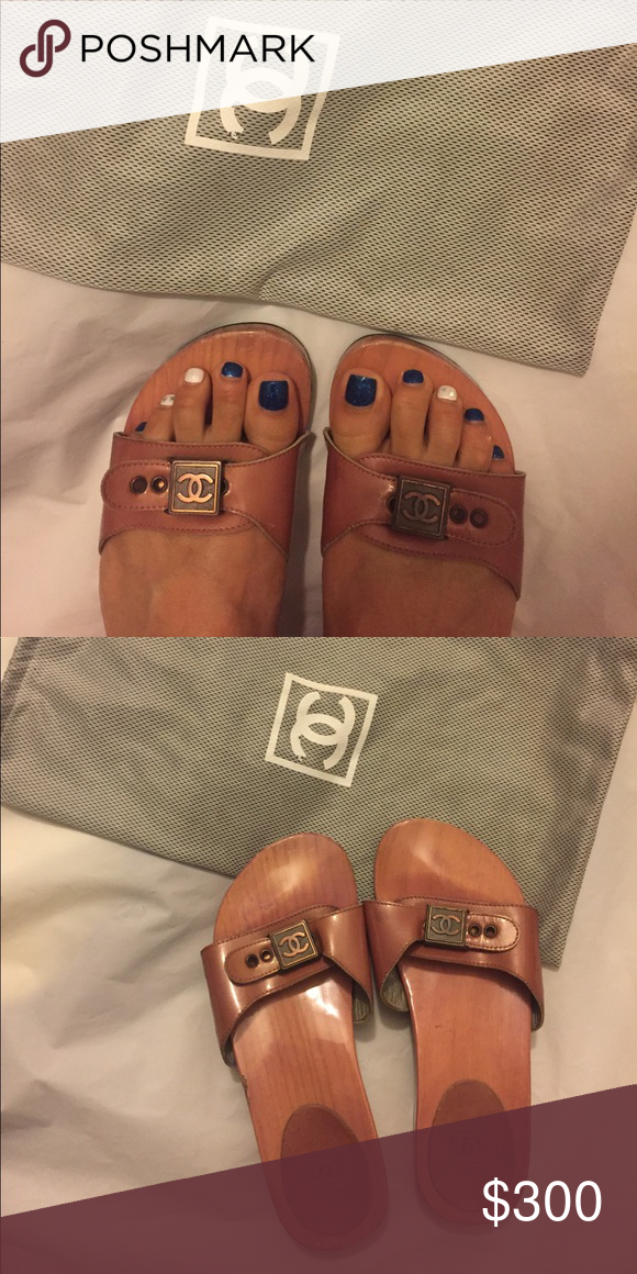 ad1945aab468a6 Rose color. Bought in Paris. One of a kind. VERY GOOD CONDITION. Price is  firm. Putting on hold to sell for now. CHANEL Shoes Sandals
