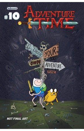 KaBOOM! Studios - Adventure Time #10 (Cover A) #comics