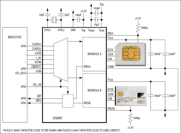 ds8005 typical application circuit