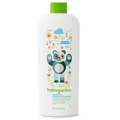Babyganics 16 Oz Fragrance Free Alcohol Free Foaming Hand