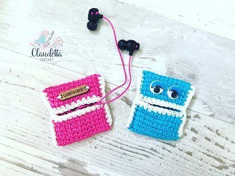 Einfache Kopfhörer Tasche Häkeln Super Für Anfänger Geeignet